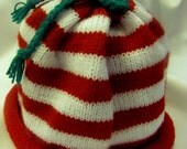 Infant Christmas Rolled Brim Cap