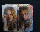 MICHELLE WILLIAMS  CELEBRITY CHECKBOOK\/DAY PLANNER COVER