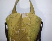 Matilda's Dancing Leaves - Upcycled Style - ABSOLUTELY One of a Kind