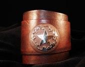 I Shot the Sheriff Western Star Cuff custom made - Urban Hardwear