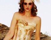 Halloween burning man tutu distressed corset dress Apocalyptic Ballerina GUARANTEED delivery by Halloween