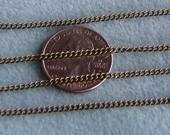 Antique Bronze Twist Curb Chain 2mm x 3mm Nickel Lead Free 370