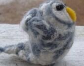 Felted Barred Owl - Mini Bird Series