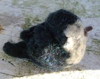 Mini Felted Tree Swallow - Bird Series