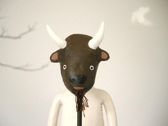 Mook with Buffalo Mask