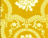 Casey Scroll Gold by Jennifer Paganelli by the yard