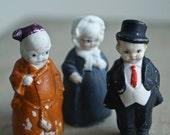 RESERVED FOR BARBARA vintage german bisque figures