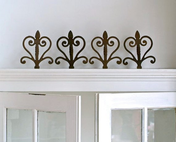 Reserved for Jennifer Victorian Wrought Iron Fence Finials