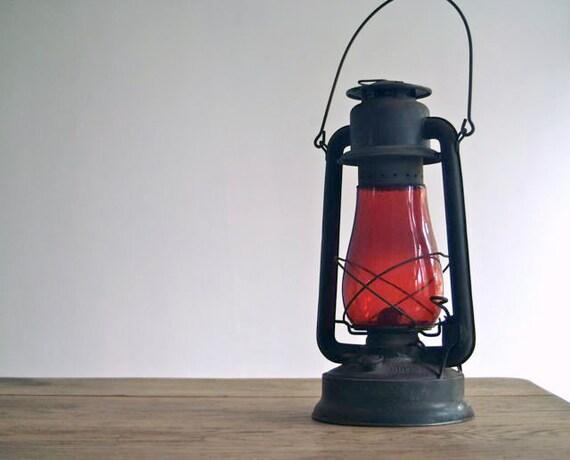 Antique Embury No 240 Supreme Cold Blast Kerosene  Lantern