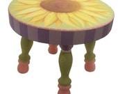 Sunflower Stool