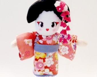 Japanese Doll Geisha Plush: Kaya-San