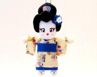 Japanese Doll Geisha Plush: Sumiko-San