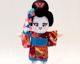 Japanese Doll Geisha Plush: Chou-San