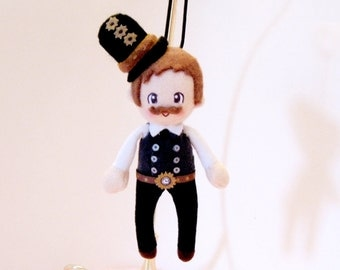 Steampunk Doll Plush: Freddie
