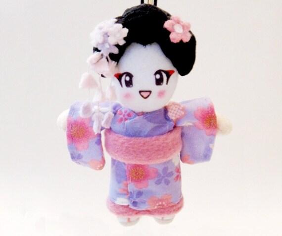 Japanese Doll Geisha Plush: Isako-San