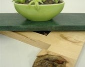 Turnadaisy Woods 6 Recycled lazy susan style display for Bonsai Orchid or any special plant