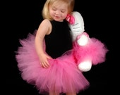 Gorgeous Custom Tutu Set- One for her and one for her favorite doll or stuffed animal