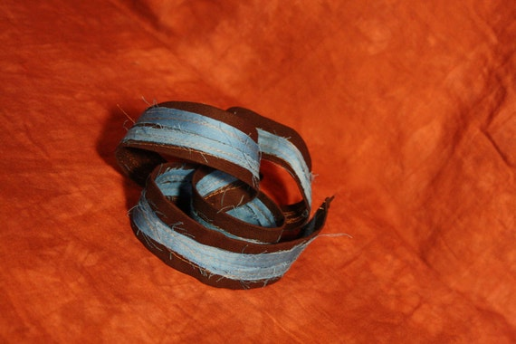 Canvas Belt- Double Helix Design- totally vegan-all canvas and reclaimed fabric-unique design- great gift for boyfriends-girlfriends