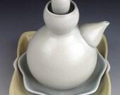 White Contemporary Teapot