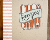 DISCONTINUED-Letterpress Recipe Book -