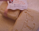 BABY BEE COCONUT Milk Baby Soap Loaded with Shea Butter and Sweet Almond and Avocado Oils