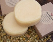 CHAMOMILE CITRUS Shampoo Bar Made with Chamomile Brewed Tea and Fresh Squeezed Lemons