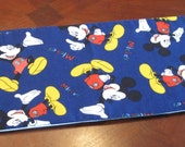 Mickey Mouse toilet tank topper or table runner, Bathroom decoration