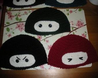 Bonzai Ninja Crochet Beanie Pattern