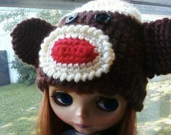 Sock Monkey For Blythe Crochet Pattern