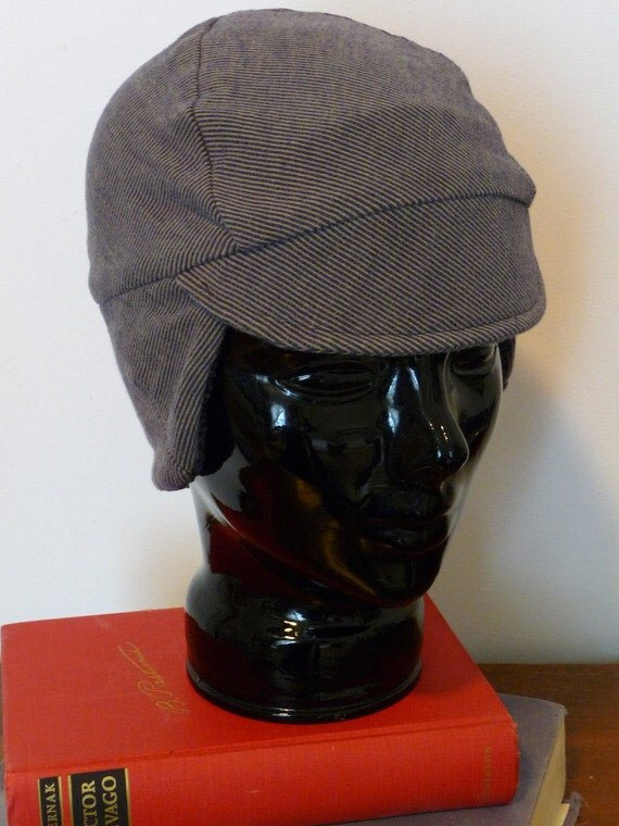 Fine Line Winter Cap (M) from Upcycled Materials