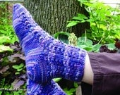 Sock Knitting Pattern - Little Fans
