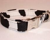 Stylish Cow Print Collar by Swanky Pet