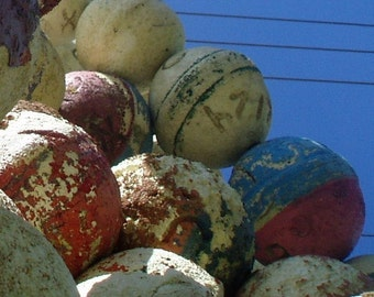 Used Key West Lobster Buoy Floats (3)