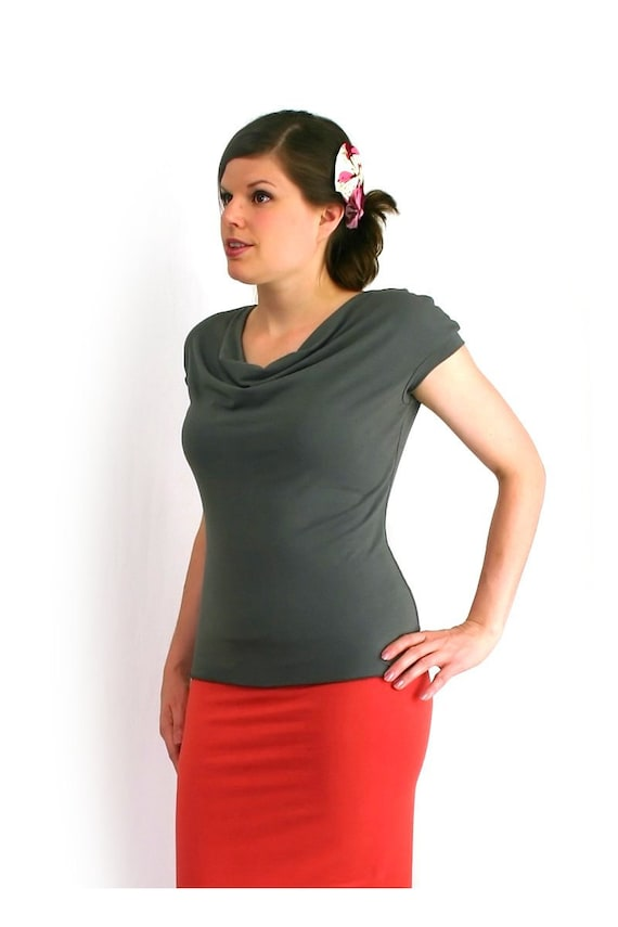 Etsyversary Sale - Soft Top in Bamboo - Made To Measure