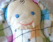 RESERVED for mpmAngel12 - Deluxe Lovey Doll (Argyle\/Furry) - SALE