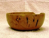 Natural Look Mesquite Wood Bowl