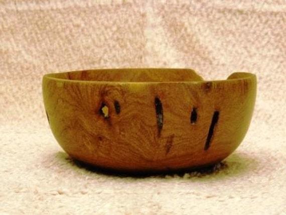 Natural Look Mesquite Wood Bowl
