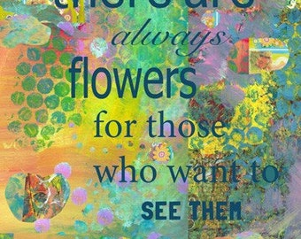 Matisse Quote Inspirational art Print by Beth Nadler