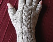 PDF - Tulip Cable Gloves (pattern)