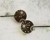 Pilar hand painted bobby pins
