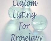 custom listing for Rroselavy