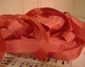5 Yards Vintage Seam Binding - Rose Pink