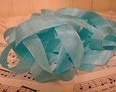 5 Yards Vintage Seam Binding - Robin's Egg Blue