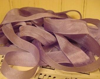5 Yards Vintage Seam Binding - Grape