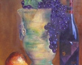 Fruit and Wine   Wine Paintings