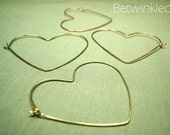 Amore Earrings (Brass/Copper)