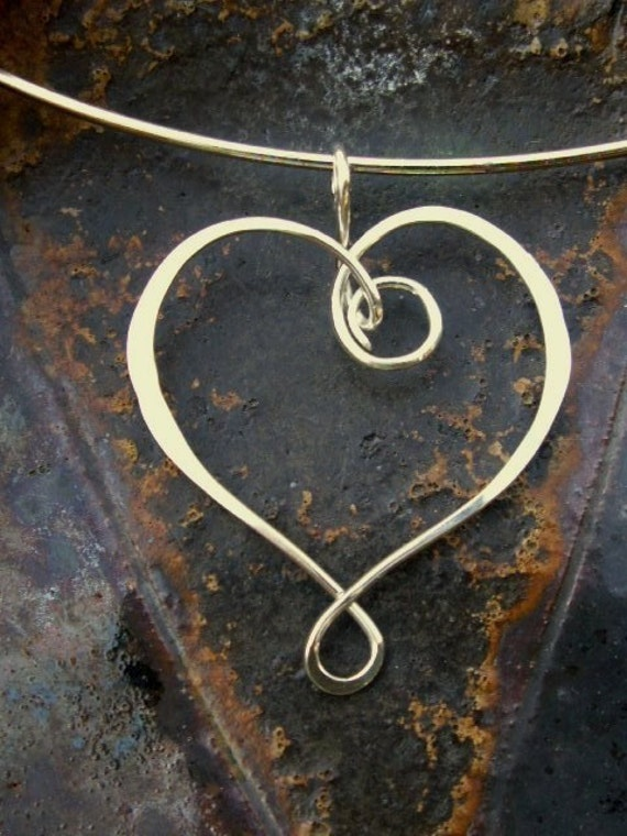 Sweet Heart PENDANT CHARM - Sterling Silver