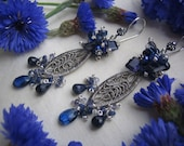 The Cornflower Earrings