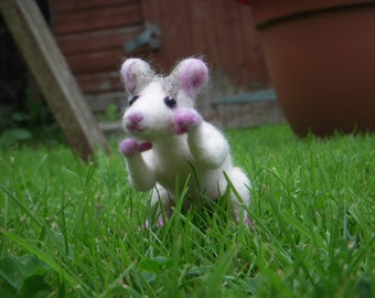 Custom needle felted sculpture of your pet