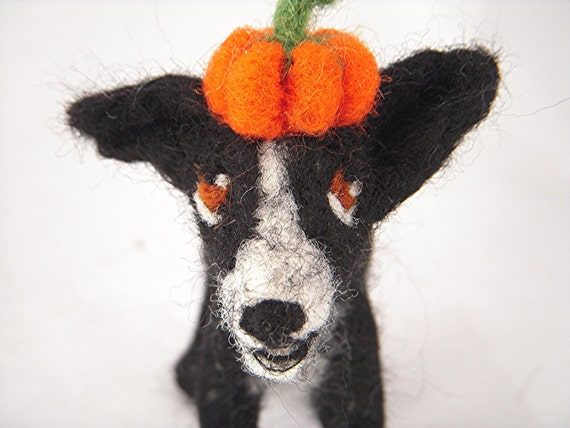 Halloween Personalised Dog Sculpture. Medium Sized Dog art. Custom Sculpture of your pet in fancy dress